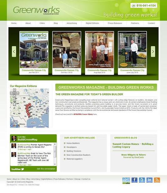 magazine web design
