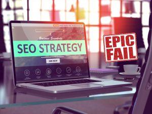 5 Ways A Perfect SEO Strategy Will Fail