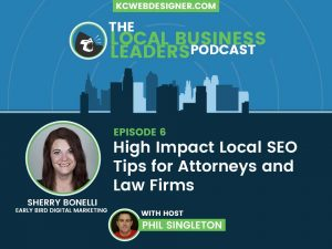 Local Attorney SEO Tips & SEO Tactics for Law Firms with Sherry Bonelli