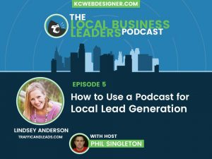 Podcasting for Lead Generation with One-Click Lindsey Anderson