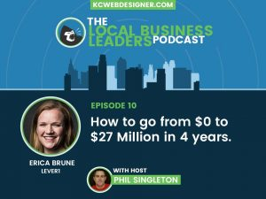 Erica Brune of Lever1: Starting a Successful Business by Solving a Problem