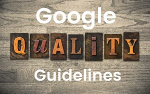 Applying Google Search Quality Evaluator Guidelines to Web Design