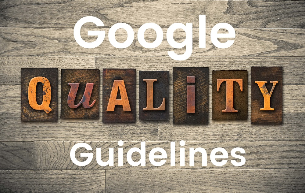 google quality websites