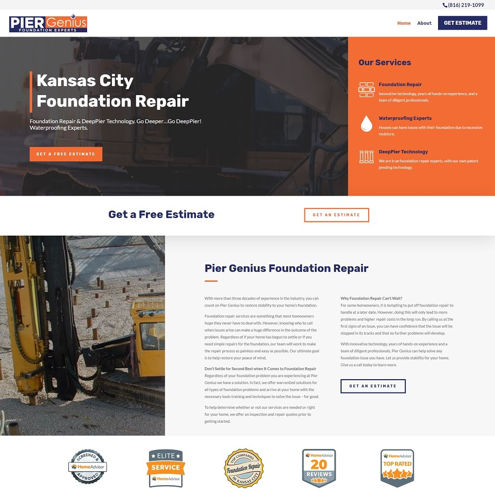web design foundation repair companies