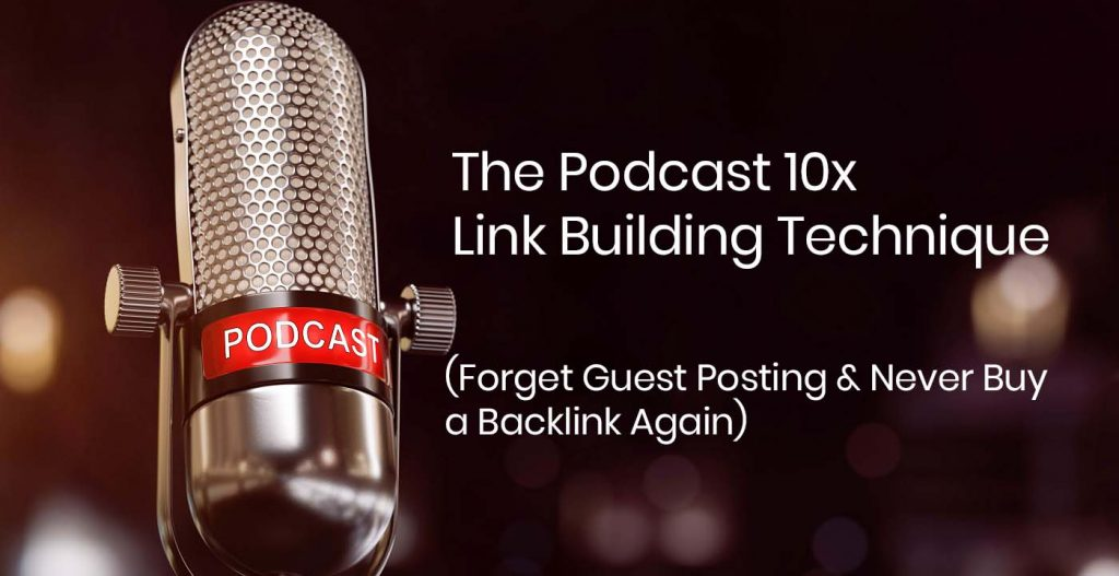 Podcast Booking Services for SEO Link Building and More