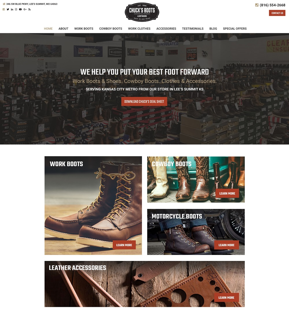 best retail ecommerce web design