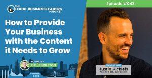 Kansas City Content Marketing Agency Guild Content Owner Justin Ricklefs